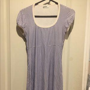Vintage BCBG Gingham dress size small